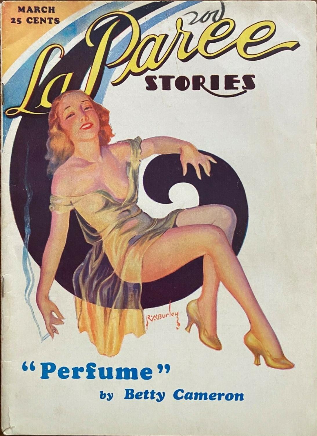 La Paree Stories - March 1933
